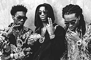 MIGOS – Hip hop, trap – Quavo, Offset and Takeoff – Poster 24in x 36in