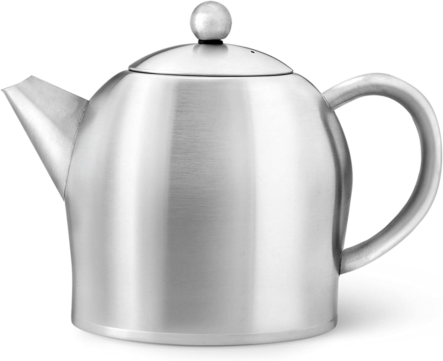Bredemeijer 0.5Liter Teapot Double Wall Stainless Steel Satin SANTHEE