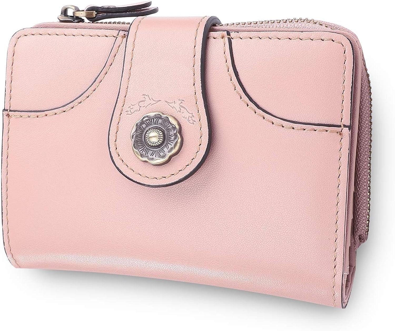 Women Premium Genuine Leather Wallet Max 79% OFF Clutch Save money Wallets Card Credit