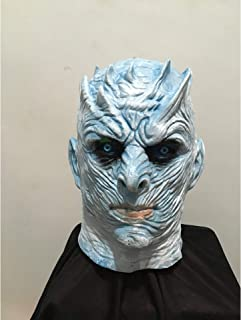 YWJ máscara de Halloween para Hombres, Juego de Tronos Night King Mask Standard