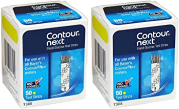 cost of contour next test strips