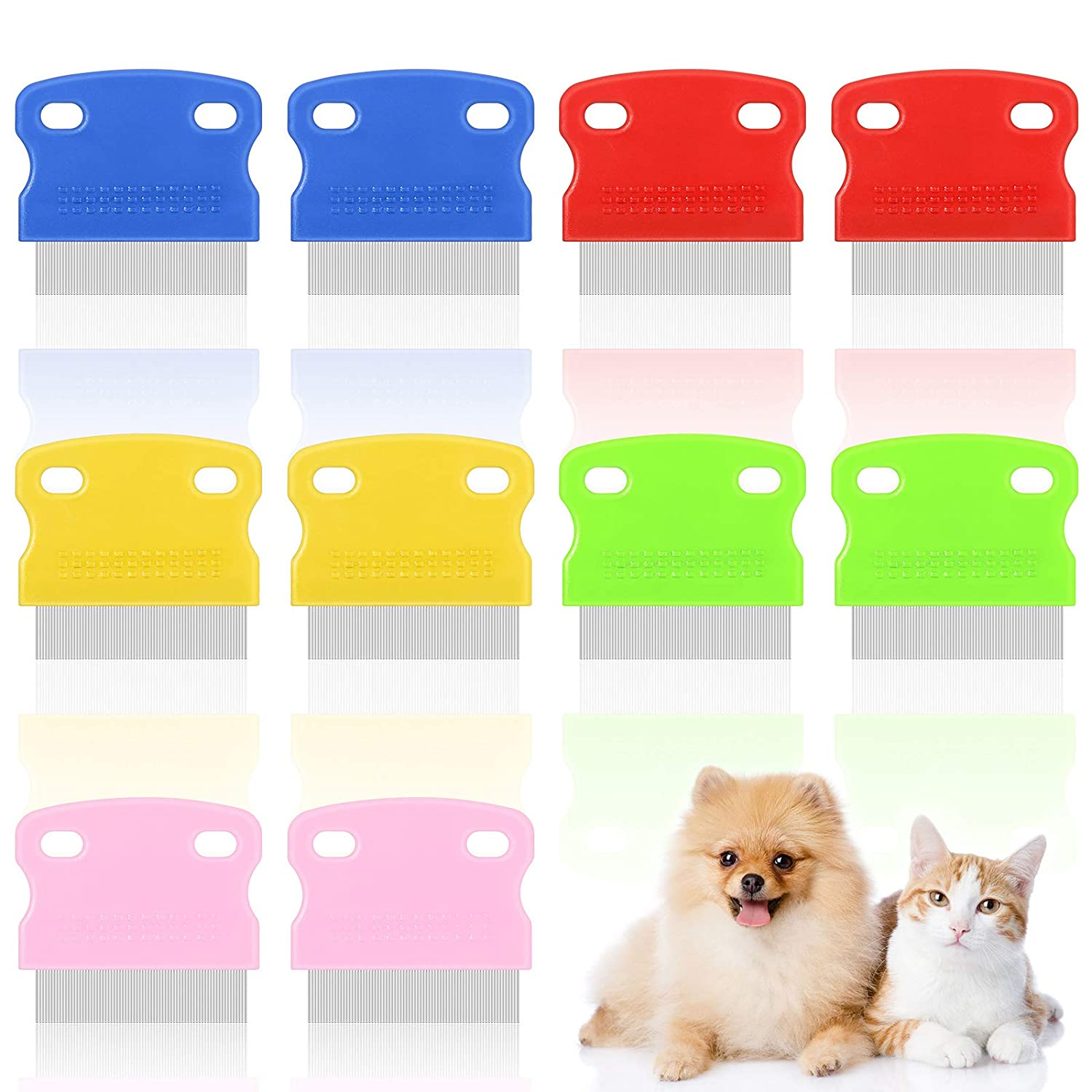10 Pieces Ranking TOP16 Tear Selling Stain Remover Comb Dog Grooming Com Pet Flea