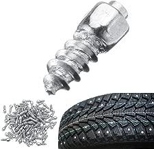 Winnerbe 100PCS Universal Car Tire Stud Screw Non-slip Metal Snow Ice Spikes Racing Track