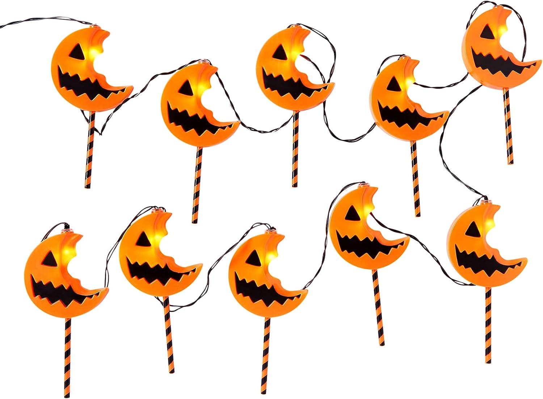 Spirit Halloween Lollipop Trick 'r Treat String Lights