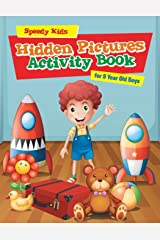 Hidden Pictures Activity Book for 9 Year Old Boys Paperback
