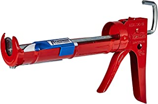 Newborn 102D Drip-Free Smooth Hex Rod Cradle Caulking Gun, 1/10 Gallon Cartridge, 10:1 Thrust Ratio