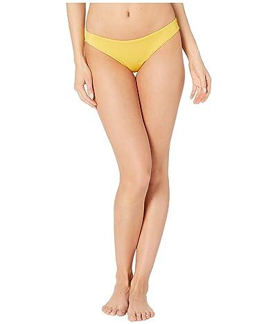 RVCA Solid Cheeky Bottom (Mustard) Women