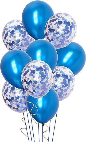 Party Decor Confetti Party Confetti Turquoise and Blue Confetti Pacific Mix