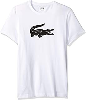 Lacoste Mens Sport Short Sleeve Ultra Dry Croc Graphic T-Shirt