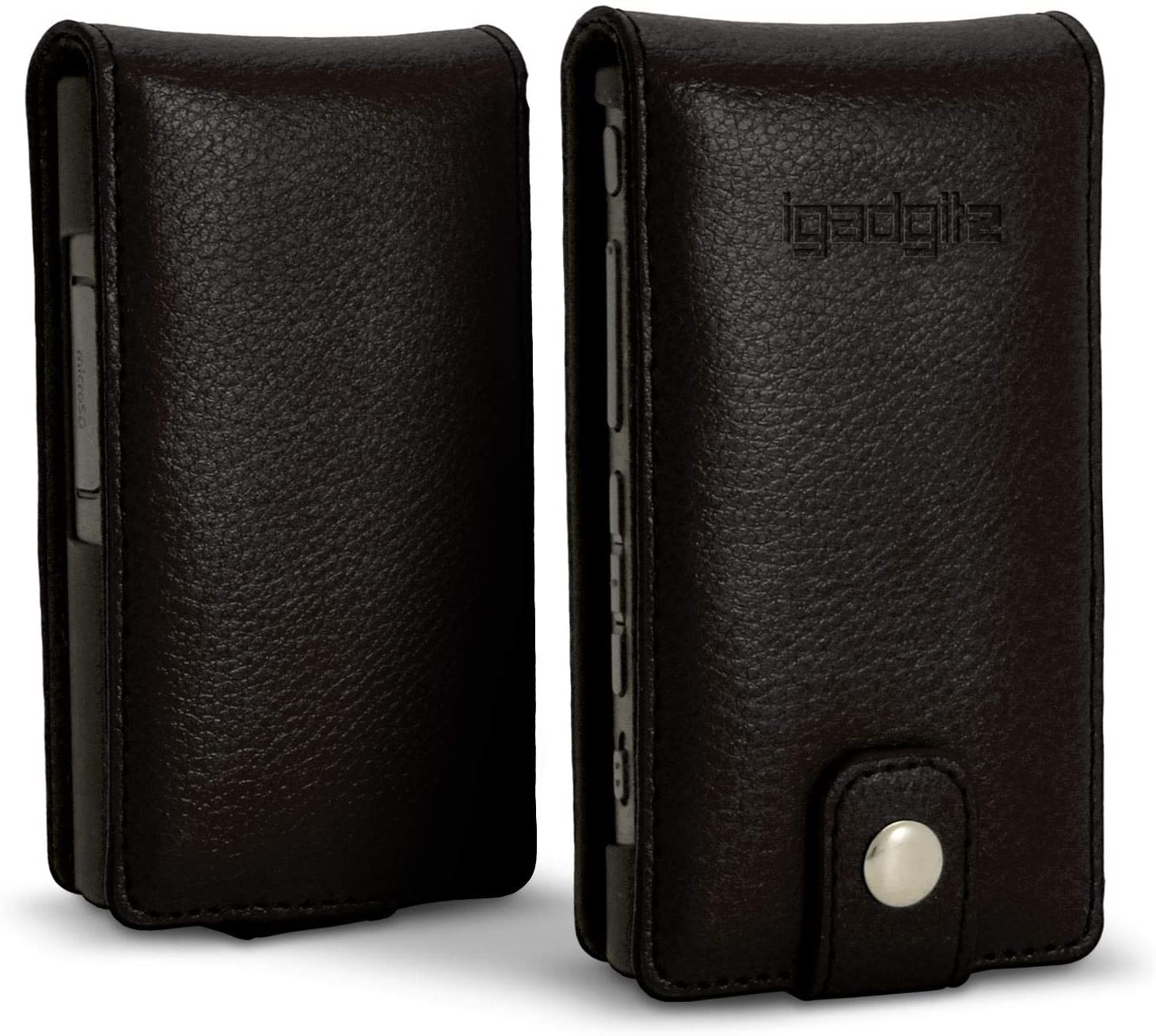 Regular discount iGadgitz U6340 Leather Flip Case with and Magnetic Closure Cover Max 71% OFF