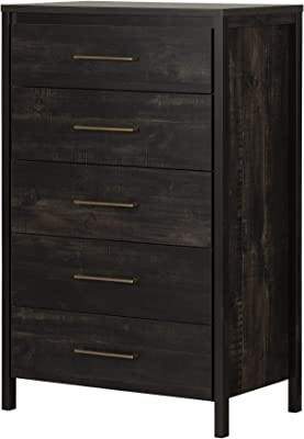 South Shore Chest, Rubbed Black