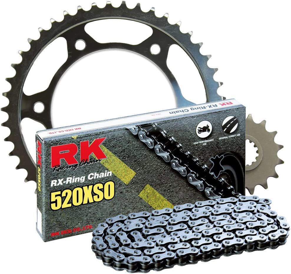 RK ! Super beauty product restock quality top! Racing Chain 4067-949S Steel 5 520XSO Rear and Sprocket popular