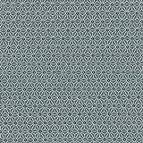 Baumwollstoff Japanische Muster | Asanoha Stoff - Weiß und