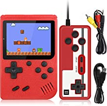 Handheld Game Console,Retro Mini Game Player with 400 Classical FC Games 3.0 Inch Screen Support for Connecting TV,1020mAh...