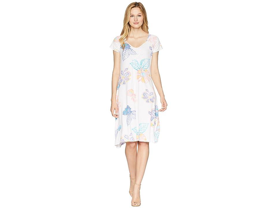 Fresh Produce Summer Floral Emma Dress (White) Women