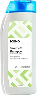 Amazon Brand - Solimo 2-in-1 Dandruff Shampoo and Conditioner, Clean Apple Scent, 23.7 Fluid Ounce