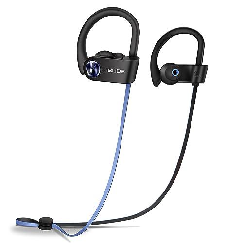 Auriculares Inalambricos Bluetooth Deportivos 4.1 Hbuds H1 SE con Micrófono y Cancelación de Ruido y Impermeables