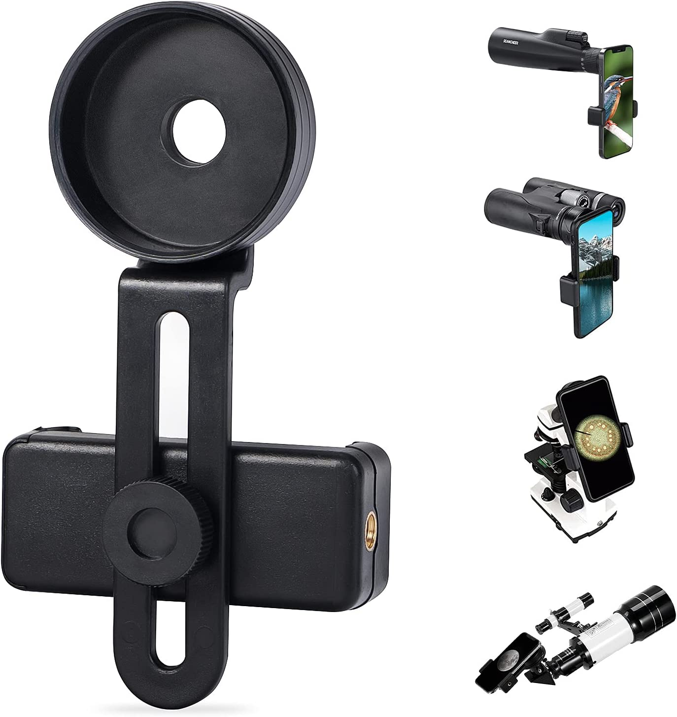 SEANCHEER Universal Cell Phone Adapter Mount Max 87% OFF Telescope Ho Max 88% OFF