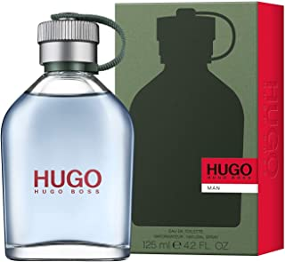 Hugo man by Hugo Boss for Men - Eau de Toilette, 125 ml