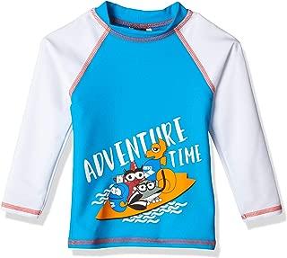 Arena 男孩防紫外线长袖衬衫