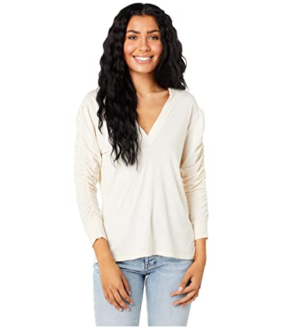 LAmade West Side Ruched Sleeve Top