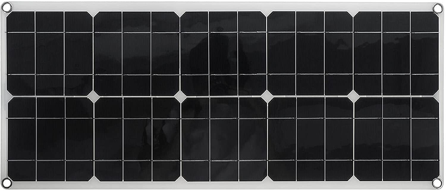 HomyDelight Solar Indianapolis Mall Controller Max 66% OFF 50W Po Panel High-Efficiency