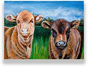 Cow Artwork Print Giclee for your Country Rustic Kitchen Farmhouse Wall Art Decor, size options
