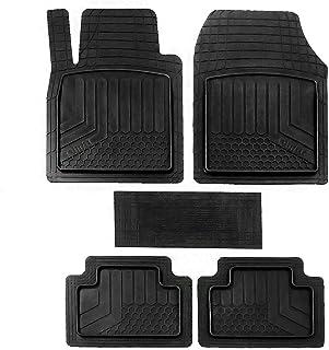 OMAC Conjunto de tapetes com proteção de borracha 3D durável para todos os climas, acessórios internos para automóveis | F...