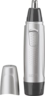 Braun Ear & Nose Trimmer with 1 AA Battery