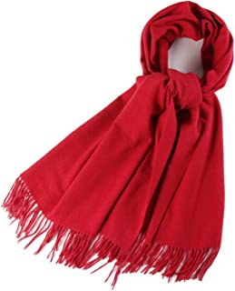 Best plain red scarf Reviews