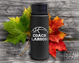 Basketball Coach gifts, Basketball gifts, Fiftyfifty, Water bottle, Coach gift, basketball Coach, Basketball coach, Football Coach, Baseball Coach, Gift for coach, Coach gift