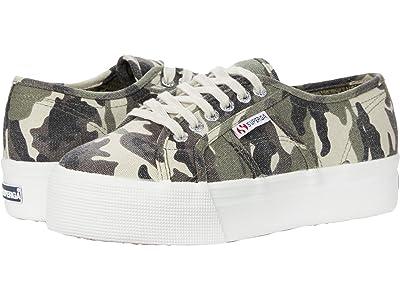 Superga 2790 Cotcamofanw Sneaker (Camoflage) Women