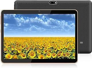 HXY Tablette Android avec écran HD IPS 10,0 Pouces, Tablette Android 9.0 avec 2..