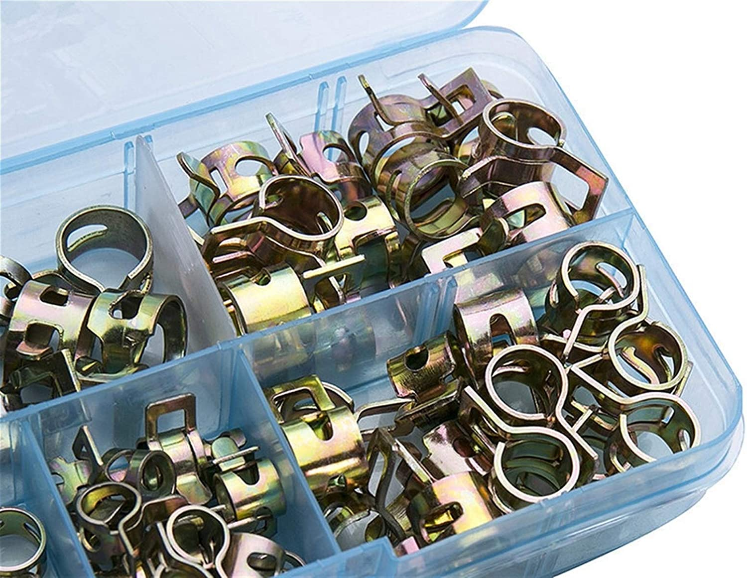 Limited Special Price Pipe Tube Clips free 75Pcs Set 6-10mm Spring Fuel Oil Vacuum C Water
