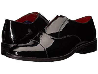 CARLOS by Carlos Santana Graham Slip-On Oxford (Black Patent Leather) Men