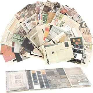 200 Feuilles Autocollants de Scrapbooking, Notes Rétro Créatif, Stickers Vintage Papier Décoratif, Matériel de Papeterie p...