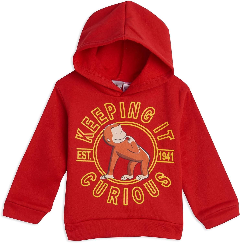 Curious George Fleece Pullover Hoodie