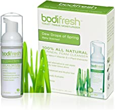 Bodifresh Cleansing Foam with Aloe and Vitamin E (Baby Scented) - Gently Removes What Dry Toilet Paper Leaves Behind- Flushable Wipes