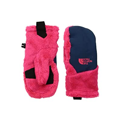 The North Face Kids Osito Etiptm Mitt (Big Kids) (Atomic Pink/Periscope Grey) Extreme Cold Weather Gloves