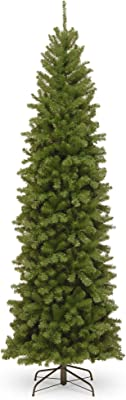 9' North Valley Spruce Slim Artificial Christmas Tree – Unlit