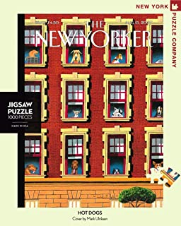 New York Puzzle Company - New Yorker Hot Dogs - 1000 Piece Jigsaw Puzzle