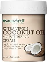 Naturewell Extra Virgin Coconut Oil Moisturizing Cream, 16 oz 1 Pack