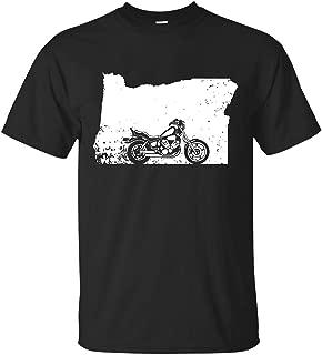 Harley Davidson Tshirt Oregon Motorcycle Shirt Love Cruising Distressed Gear T-shirt For Men Women