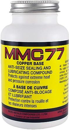 MMC77 Copper Base Anti-Seize Lubricant Compound 2100°F (8oz): image