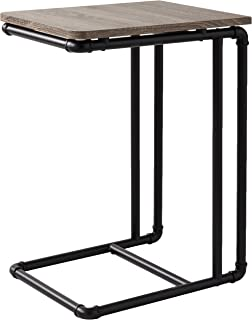 Organize It All Industrial Pipe Side End Table