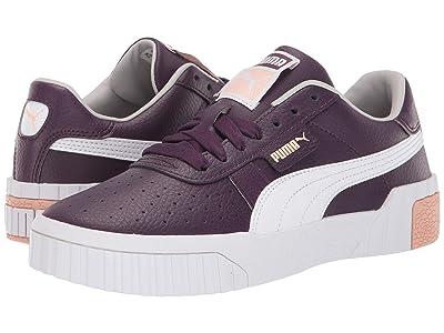 Puma Kids Cali (Big Kid) (Plum Purple/Peach Parfait) Girls Shoes