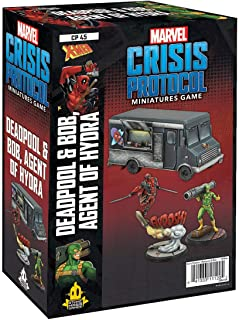Atomic Mass Games - Marvel Crisis Protocol: Character Pack: Deadpool and Bob: Marvel Crisis Protocol - Miniature Game