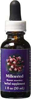 Flower Essence Services Dropper Herbal Supplements, Milkweed, 1 Ounce
