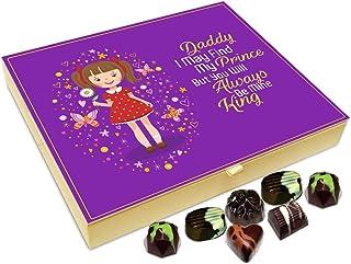 Chocholik Fathers Day Gift Box - Dad You Will Always Be My King Chocolate Box - 20pc