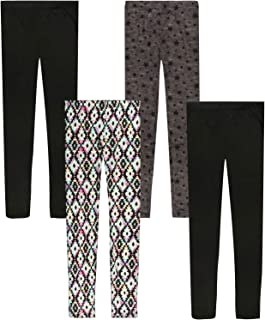 Butter-Soft-Touch Printed Yummy Leggings (4-Pack)